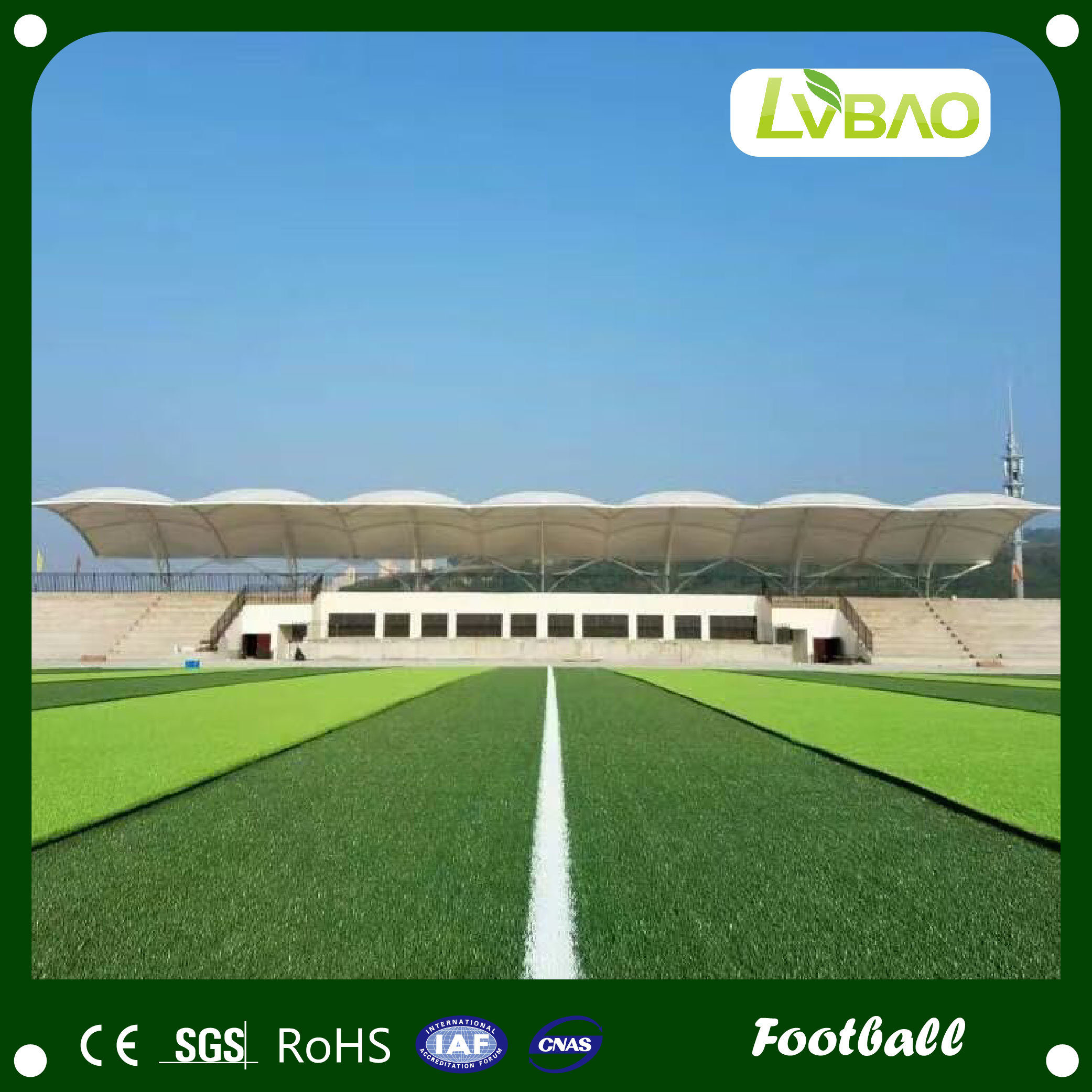 China Professional Manufacture Artificial Grass Used for Playground