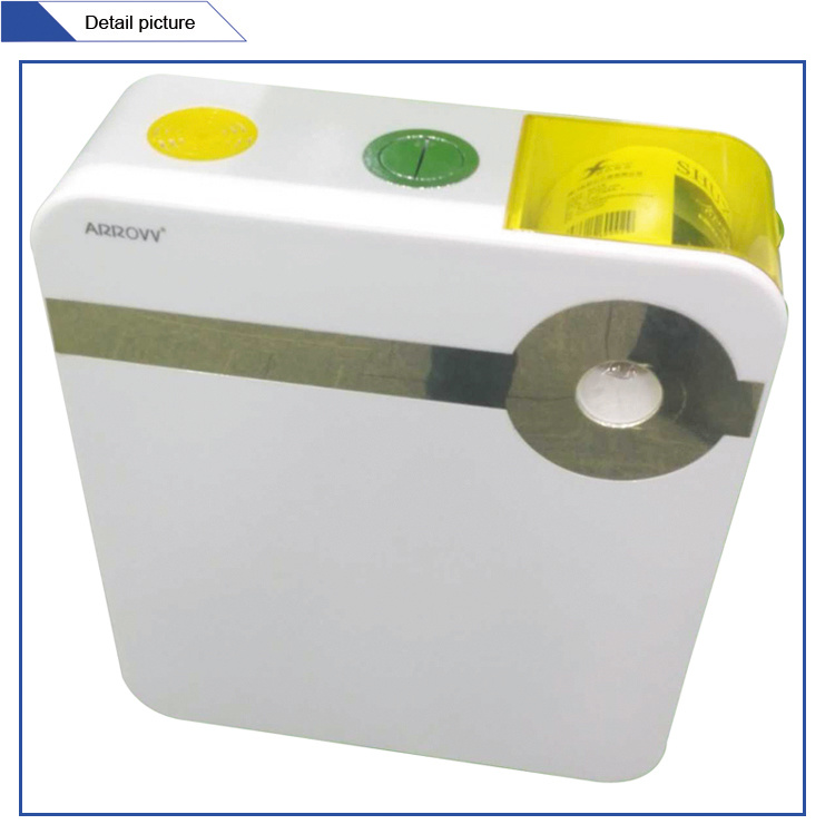 Jet-106A Wall Mounted Sticker PP Toilet Cistern Flush Tank