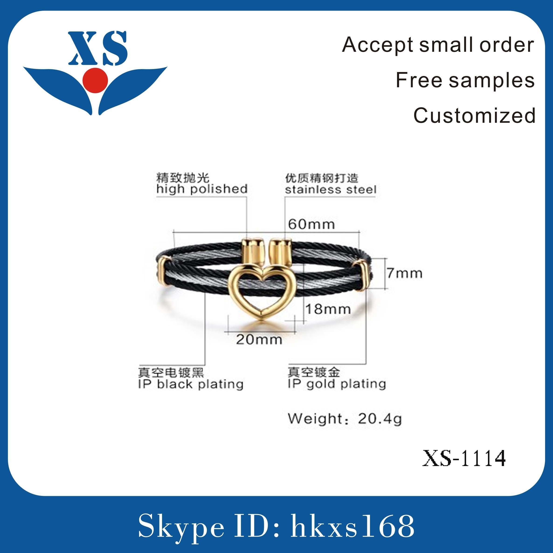 Handmade Material Leather Bangle Bracelet