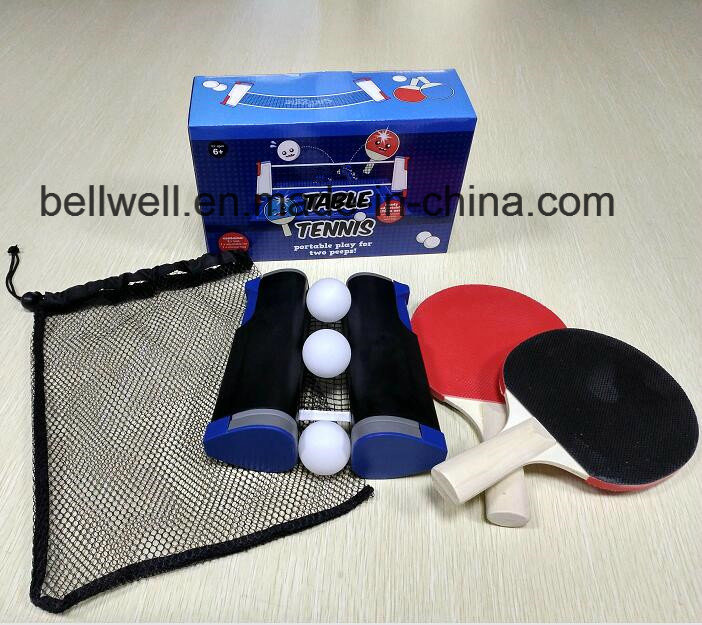 Portable and Retractable Table Tennis Net Set Table Tennis Racket