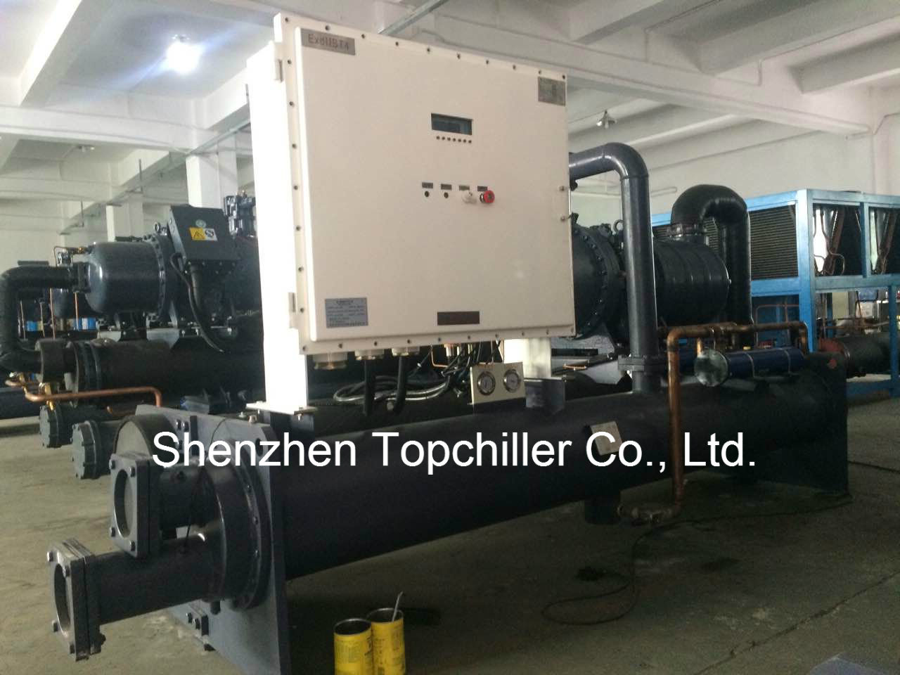 285000BTU/H Mould Cooling Water Cooled Chiller in Extruder Lines