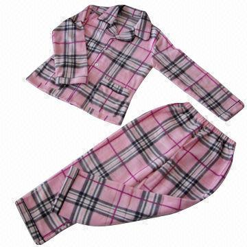 Supersoft Flannel Bathrobe Pajamas for Ladies