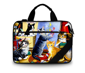 Van Gogh 2017 Fashion Huado Canvas Laptop Sleeve Bag Computer Bag with Customer Design