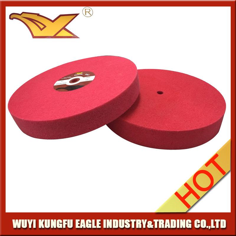 Abrasive Nylon Wheel Non Woven Polishing Wheel (150X25mm, 7P)