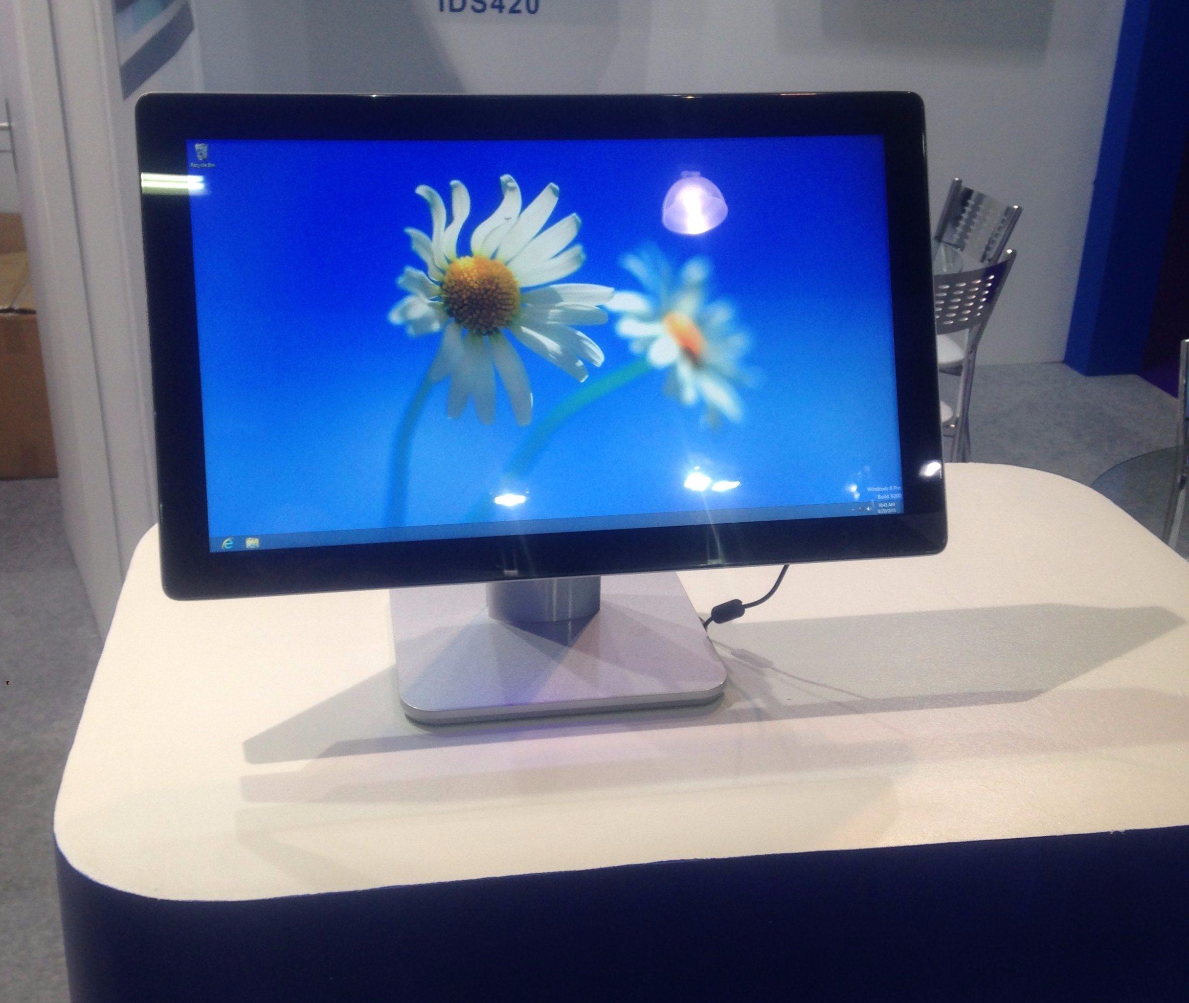 "21.5"" Desktop Touch Screen Display Pcap 4: 3 10 Points Advertising Display"