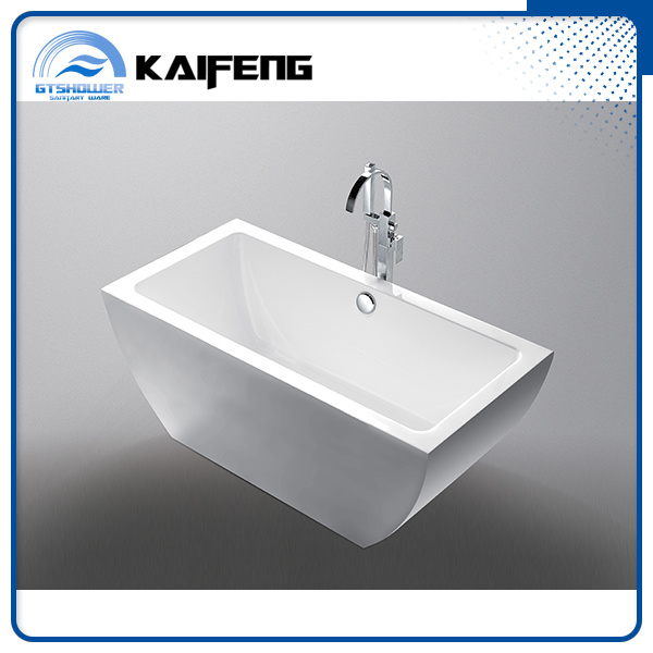 Elegant Rectangle Plain Bathtub (KF-718K)