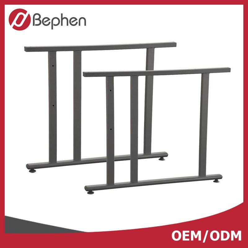 OEM Office Steel Desk Leg Powder Coating Knock Down Desk Leg 1217