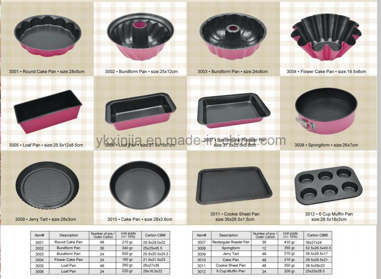Bakware Baking Pan 0.4mm Pink Flower Nonstick Mary Berry Bakeware