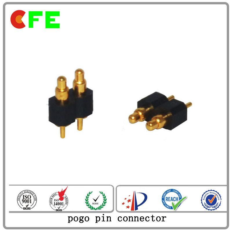 2pin DIP Spring Contacts Pogo Pin Connector