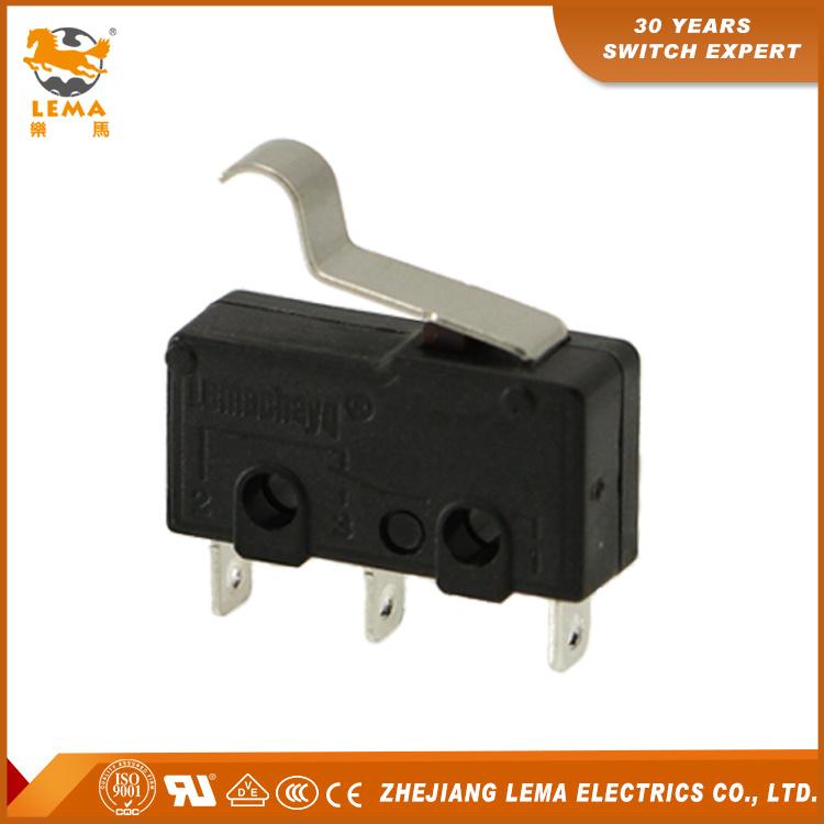 Lema Black Kw12-56 5A Miniature Micro Switch