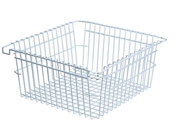 Home Storage Stainless Steel PVC Coated Wire Mesh Basket
