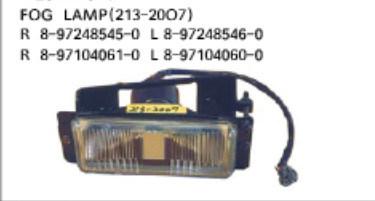 Isuzu Auto Lamp/ Auto Rear Bumper / Car Bumper / Front Bumper