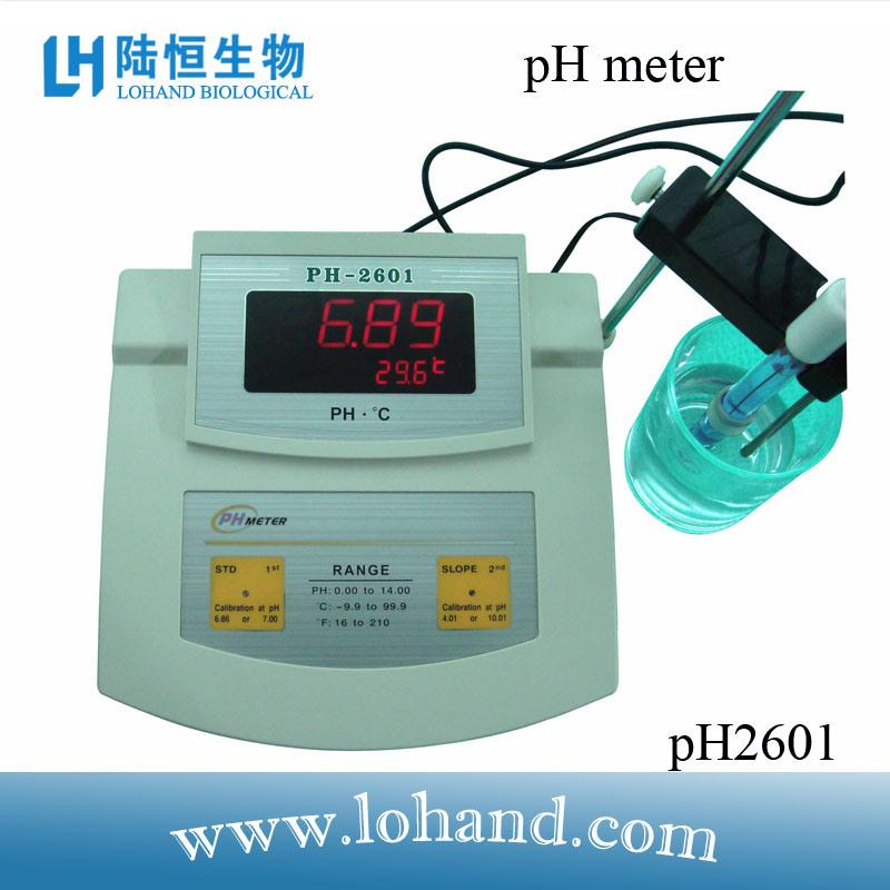 High Quality Bench Top pH Meter (pH-2601)