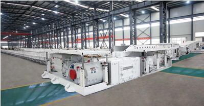 Mining 4*1000 Kw 1140V VFD Armoured Face Conveyor