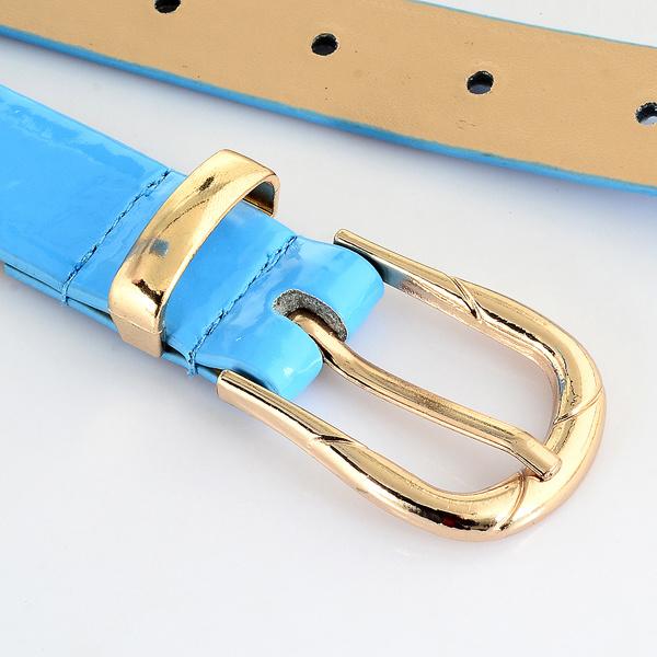 Fashion Women Pants PU Leather Belt (RS-150233)