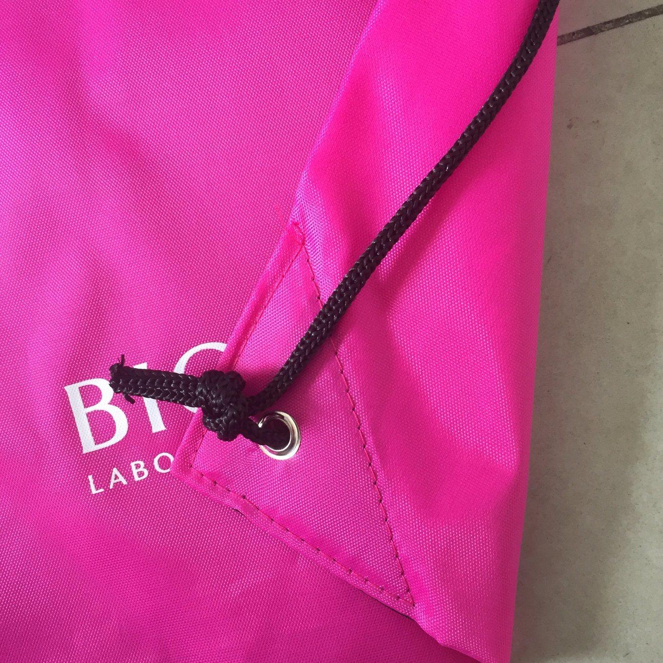 Custom Design Gym Sports Backpack Bag with Drawstring