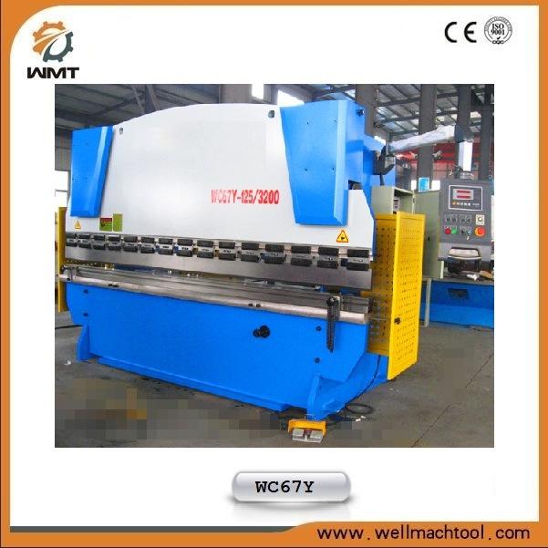 Metal Plate Bending Hydraulic Press Brake Equipment (WC67Y-125/4000)