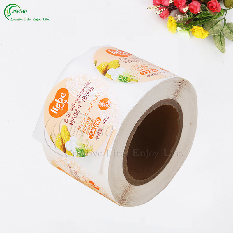 Self-Adhesive Roll Label Manufacturer (KG-PL001)
