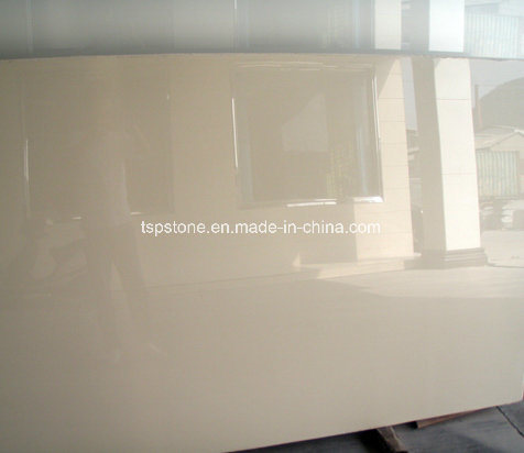 Beige Nano Crystallized Glass Stone Panel China Supplier