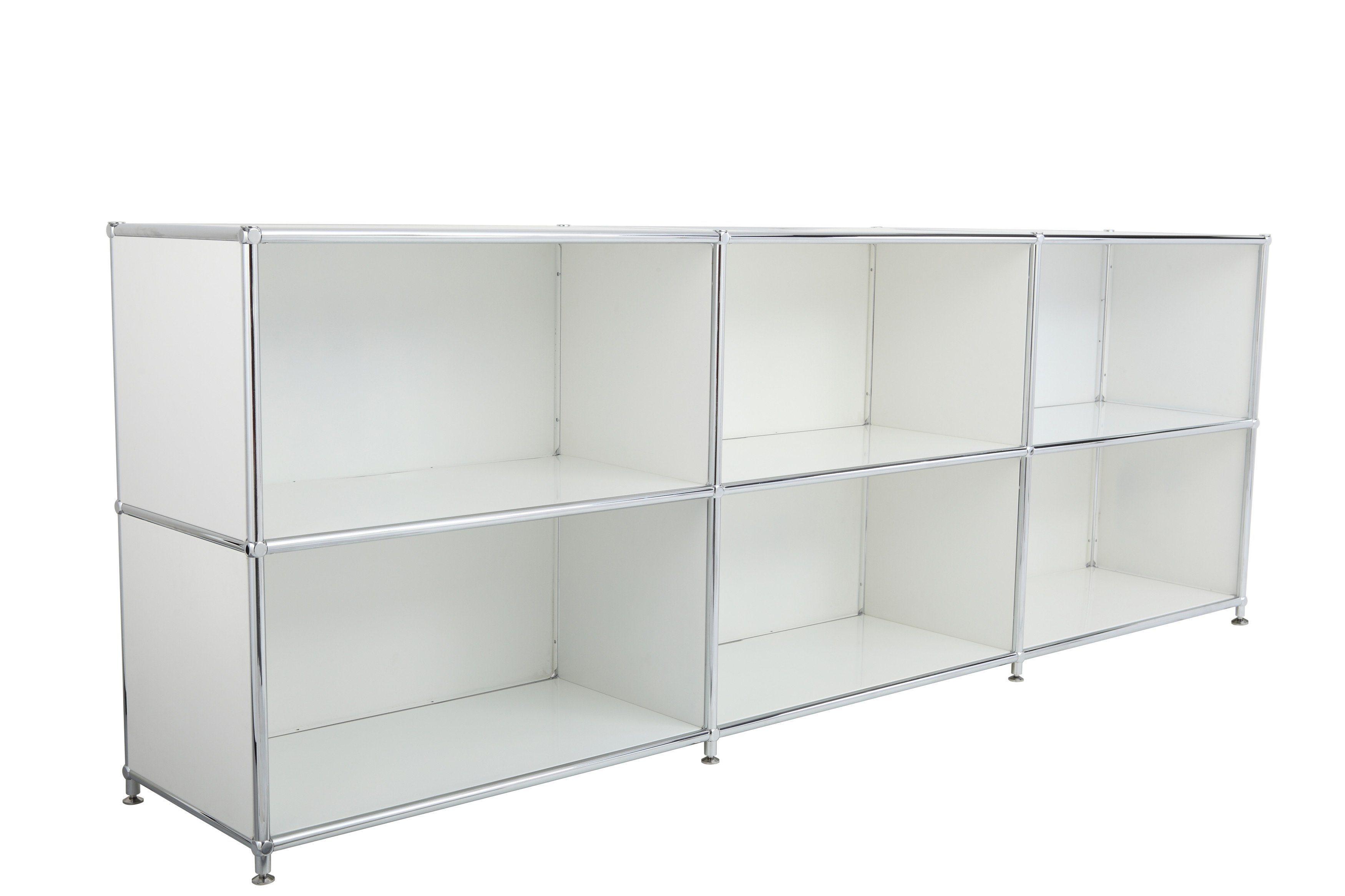 Study 4 Door Steel Storage Modular DIY Office Transcube Modular Filing Cabinet