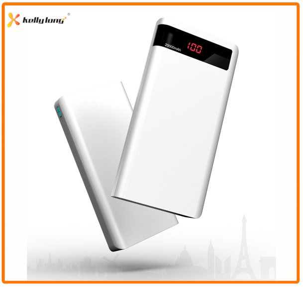 High Capacity Polymer Battery 20000mAh Portable Moble Charger Power Bank