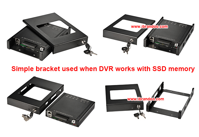 High Definition 8 Channel Basic Record Vehicle Mdvr Car Mdvr
