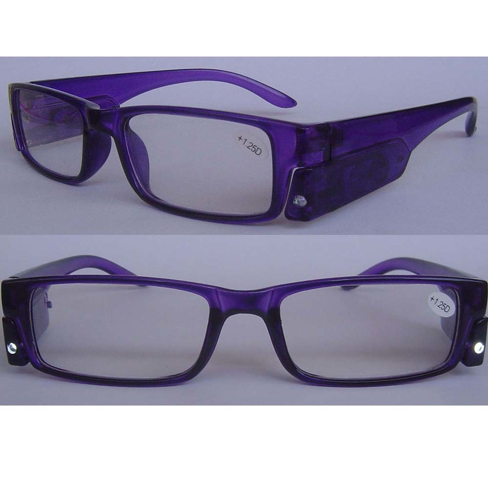 LIGHTED EYEGLASSES Glass Eye