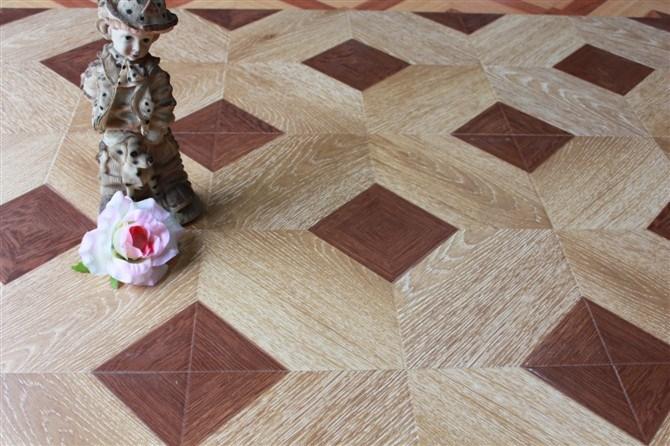 Parquet Style Laminate Flooring (417)