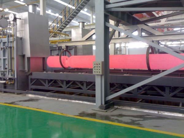 Roller Hearth Furnace for Steel Cylinder Production Line (Custom Design)