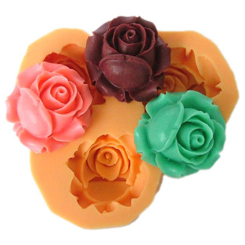 F0041 Silicone Resin Molds DIY Fondant Tools Polymer Clays Plaster, Cameo Mold