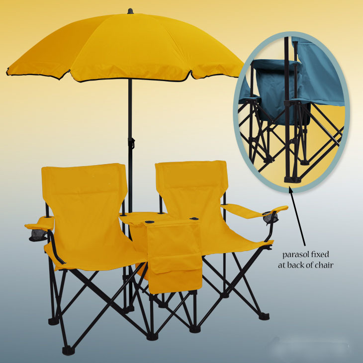 UMBRELLA FOLDING CHAIR