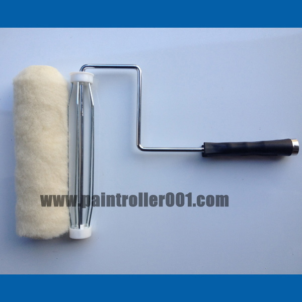 "2-18"" 100% Wool/Lambskin/Natural Sheepskin Paint Roller Cover"