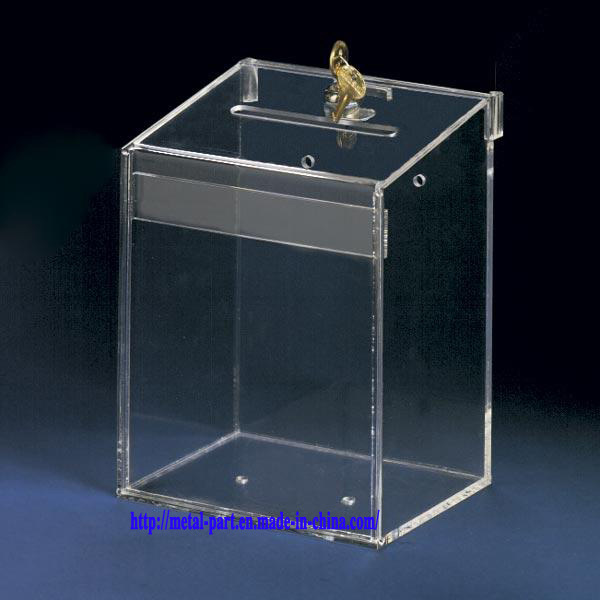 Acrylic Offering Boxes : China acrylic donation box ad a