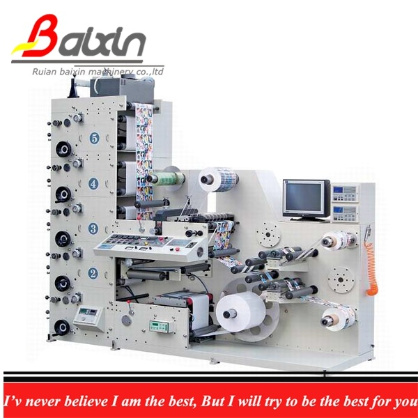 Ry 320 Flexographic Printer Machine with Die Cutting