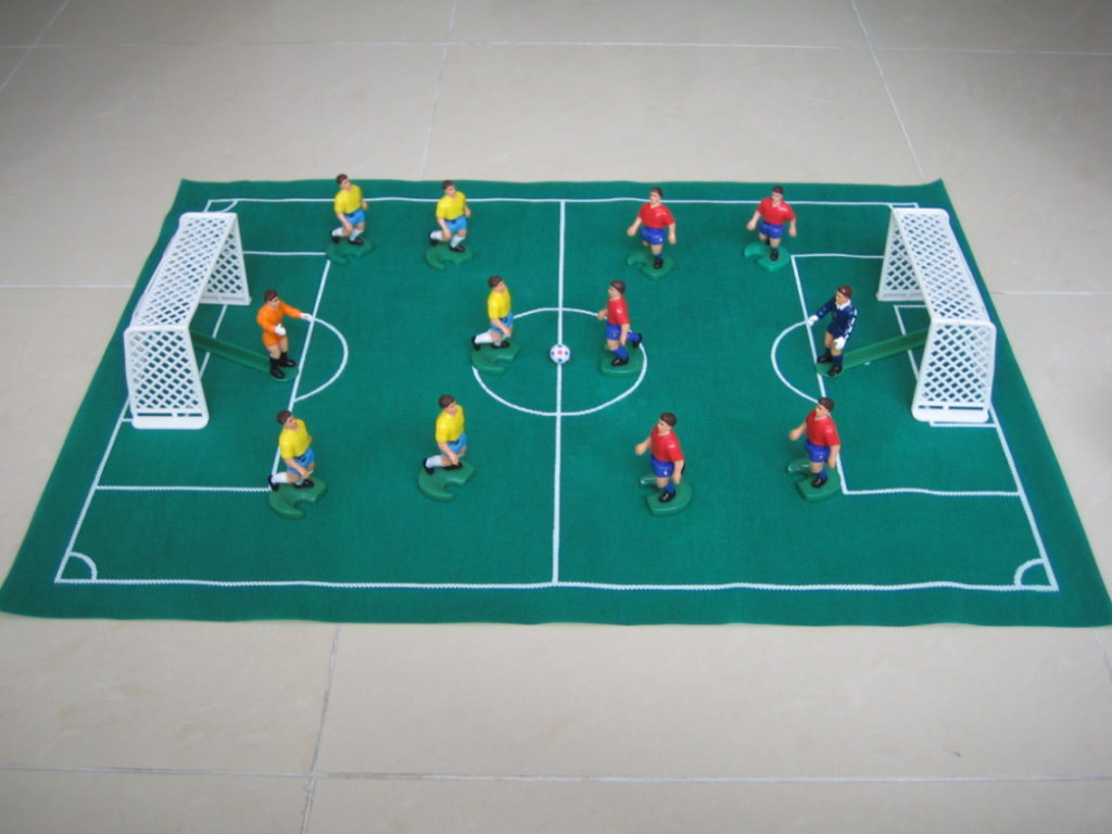 game of soccer: