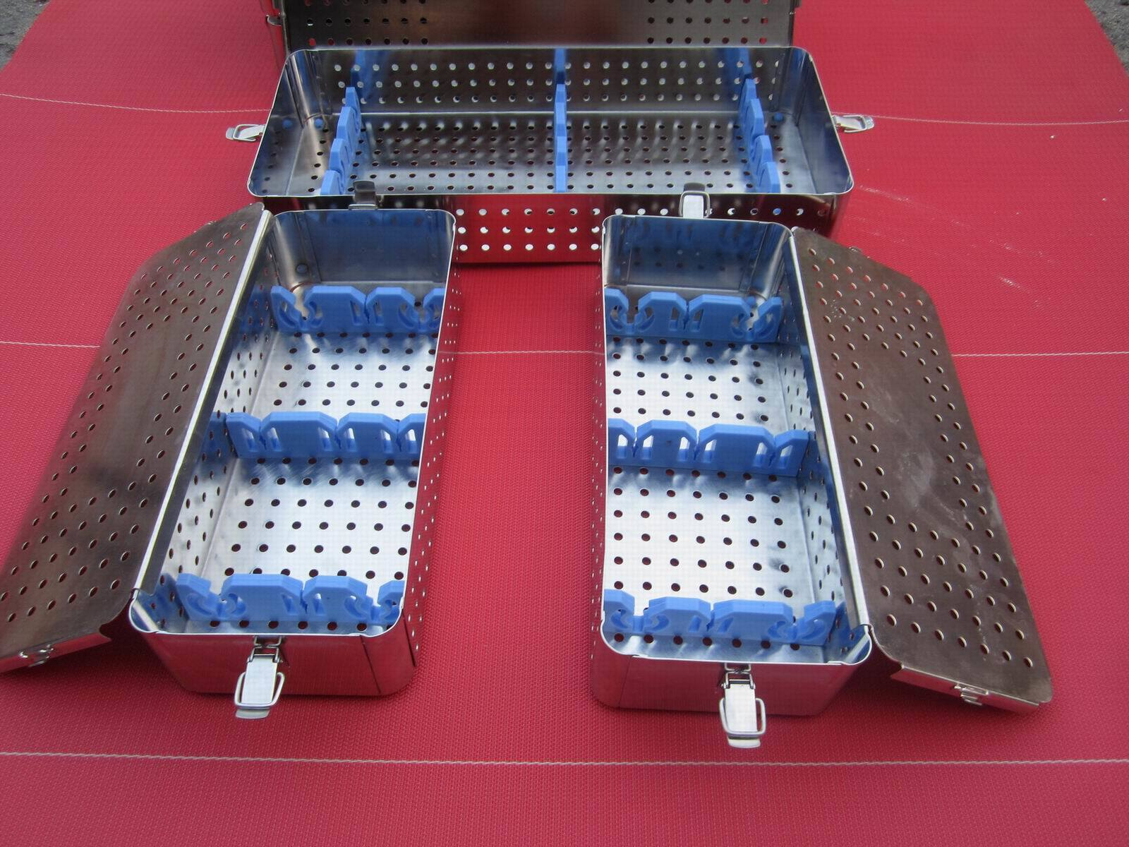 Perforated Instrument Sterilizing Trays