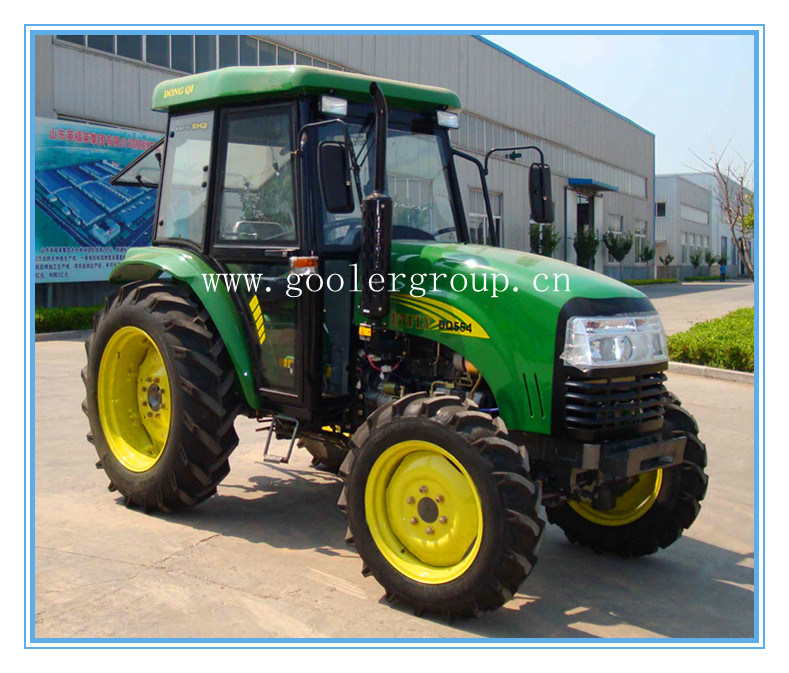 Farm Wheeled Tractor, 40HP/55HP 4X4, Dq404/Dq554 with Sunshade/Cabin
