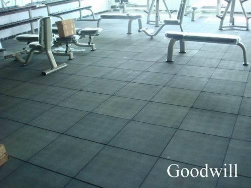 Tile Gym Rubber Flooring RT 01 China Rubber Tile Rubber Floor