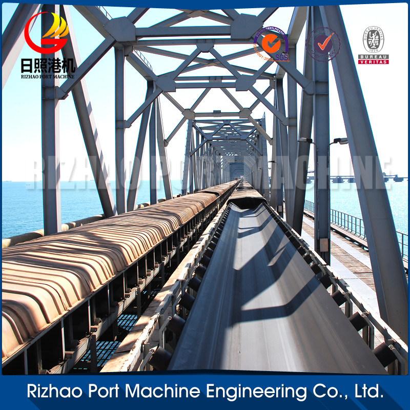 SPD Wood Chip Conveyor Belt System, Belt Conveyor