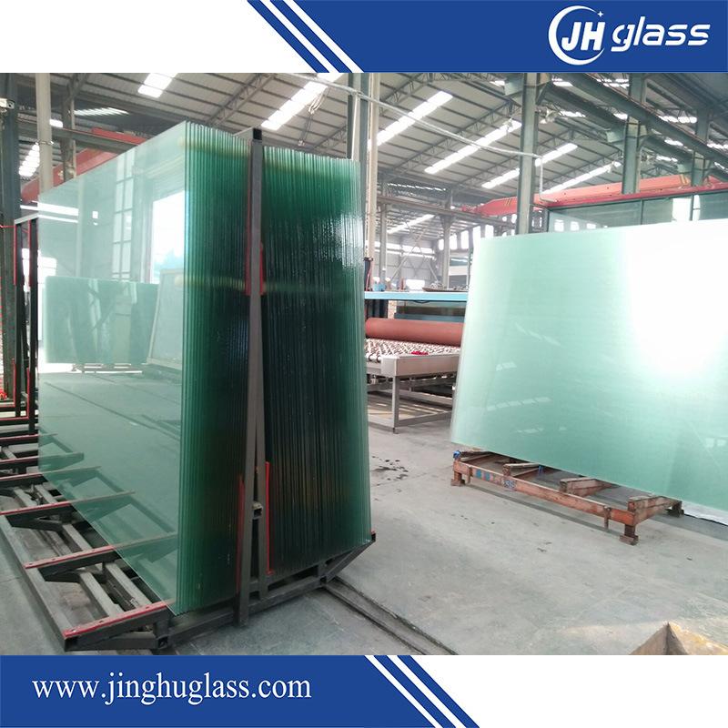 6mm+0.52PVB+6mm Tempered Gray Laminated Glass