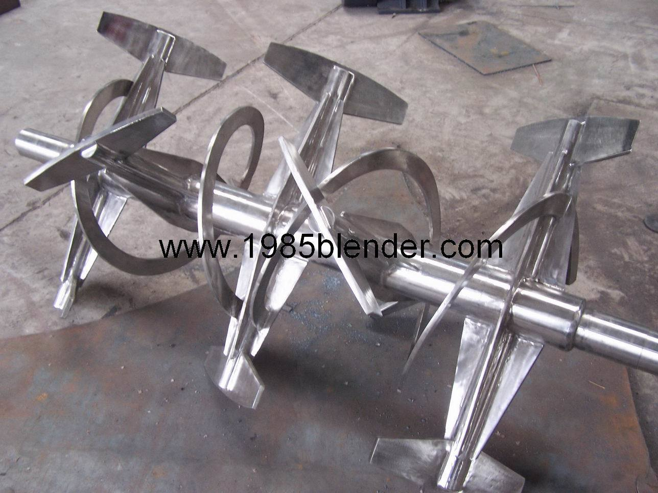 China Ribbon and Paddle Mixer Machine Photos & Pictures - Made-in ...