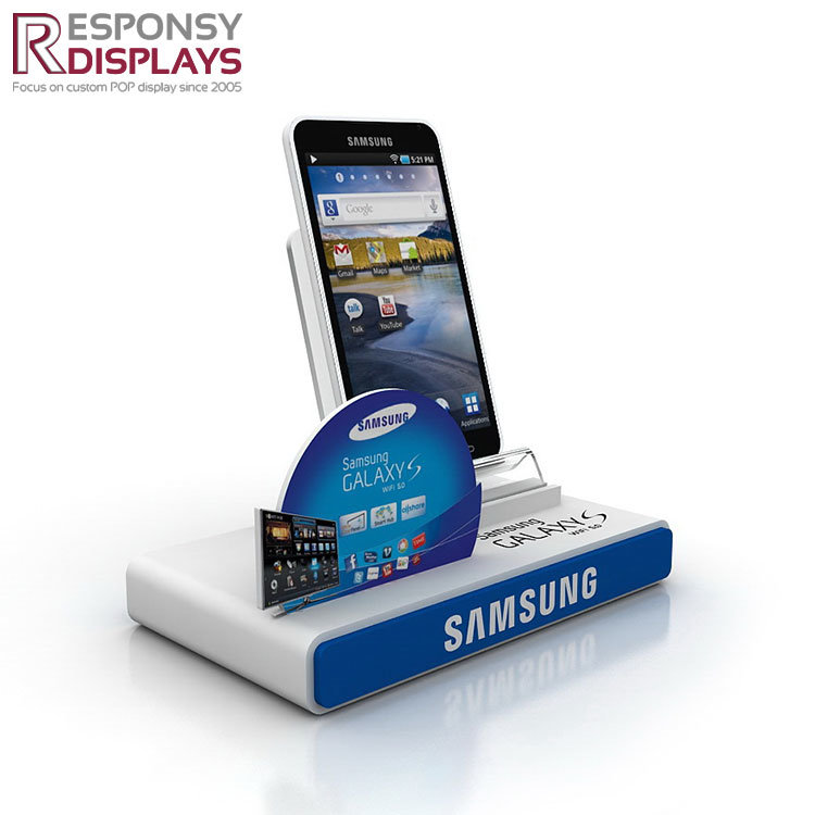 Acrylic Cellphone Mobile Phone Counter Top Display Stand