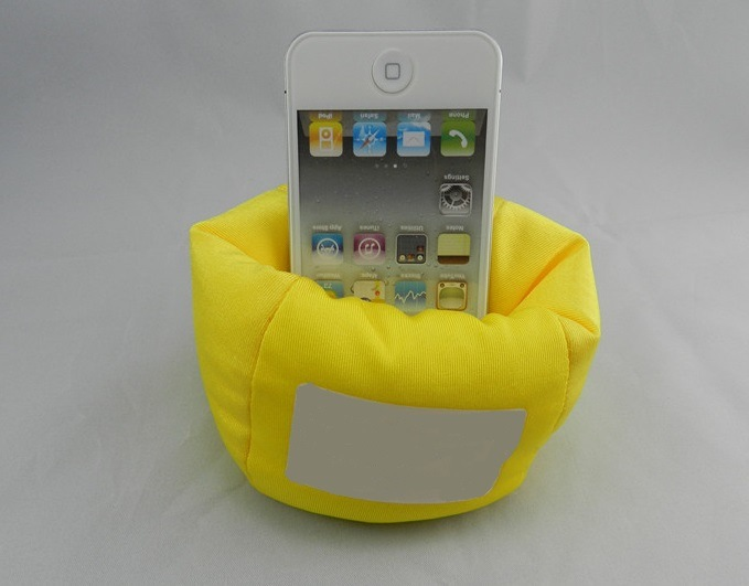 Phone Bean Bag, Made of Micro-Fiber with Polyfoam
