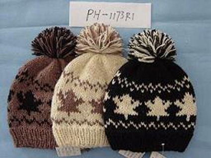 the blue blog patterns: double knit cap - knitsmiths