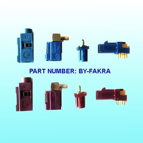 RF Connector, Fakra, SMA, BNC, SMC, TNC, MMCX, CRC9 Connector, Cable Connector