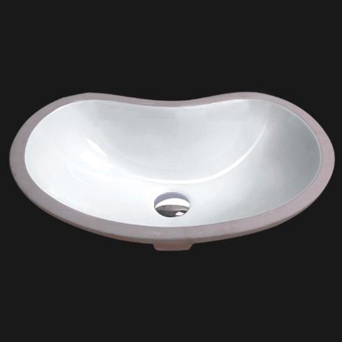 Undercounter Bathroom Ceramic Sink (1605)