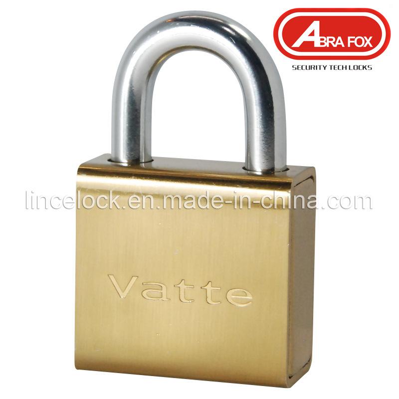 Padlock, Brass Lock, Brass Cylinder Steel Padlock (205)