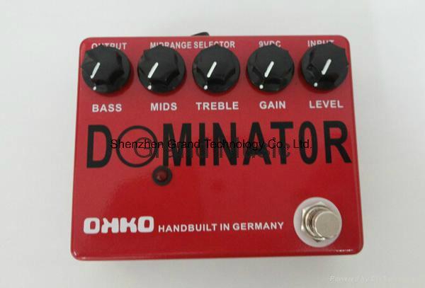 Custom Okko Dominator Style Handmade Guitar Effect Pedal (JF-64)