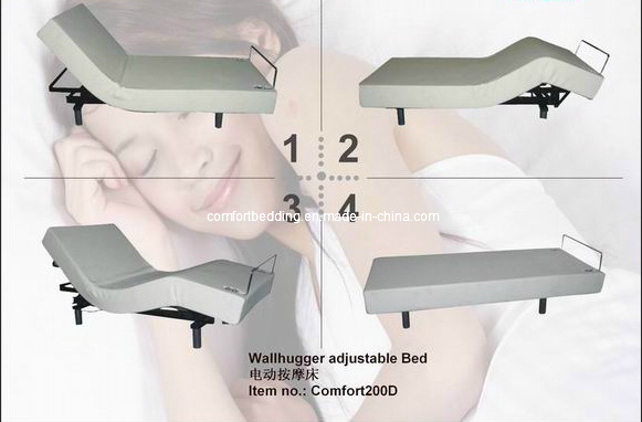 Wallhugger Adjustable Beds with Massage Function (Comfort 200D)