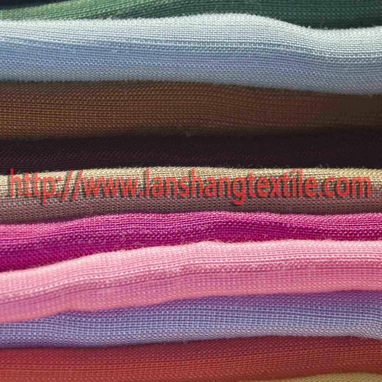 Blending Woven Cotton Tencel Viscose Linen Fabric for Woman Dress Skirt Children Garment Home Textile Industry.